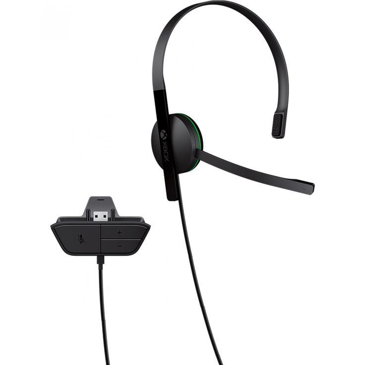 Audífonos Xbox One; Mantén una comunicación clara dentro del juego con el audífono de Xbox One. Un accesorio para fanáticos de los juegos en línea el nuevo Xbox One Chat Headset conectado al control está diseñado para prolongadas sesiones de juego y de