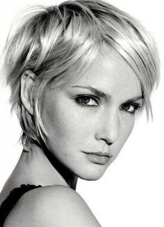 The Messy Layered Short Haircut from 20 Short Hairstyles for Straight Hair