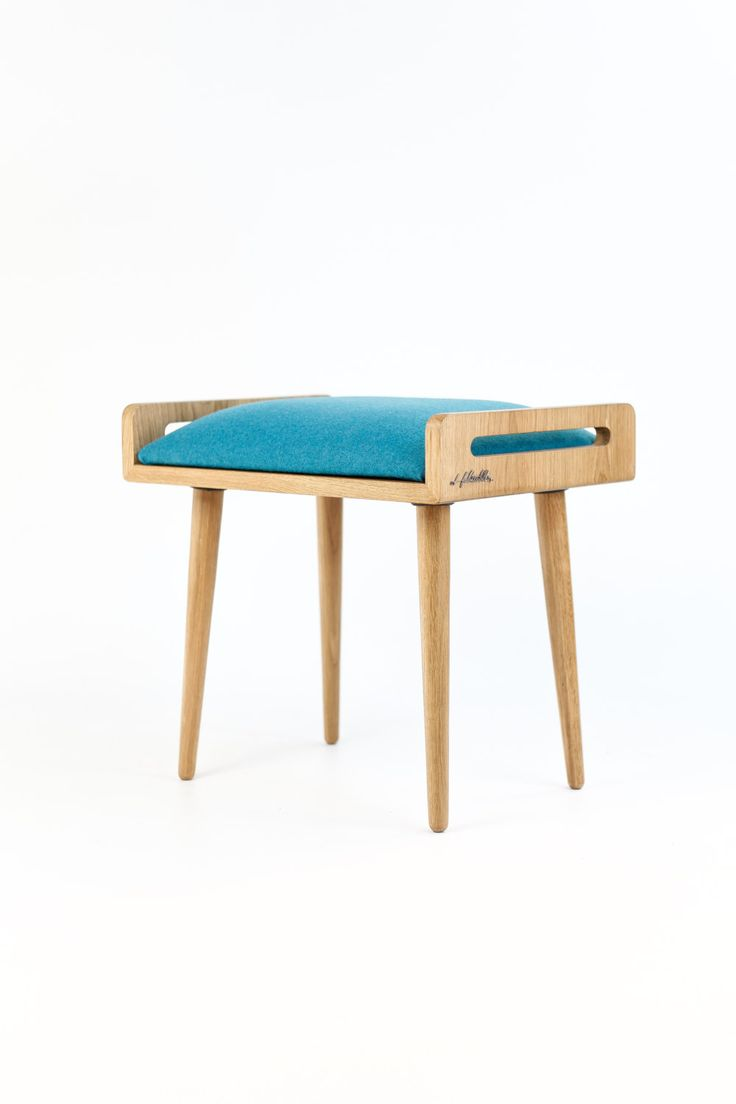 Stool / Seat / stool / Ottoman / bench made of solid by Habitables