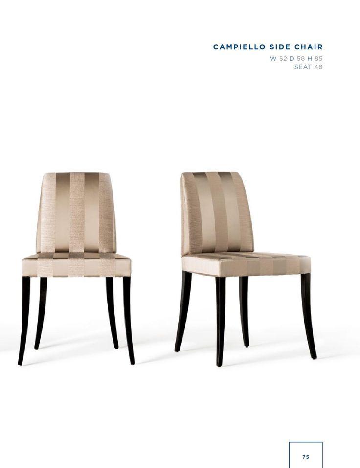 Rubelli Casa - Campiello side chair