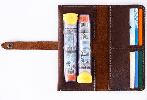 EpiPen Case | EpiPen Carrier | Long Allergy Wallet – CarryNine