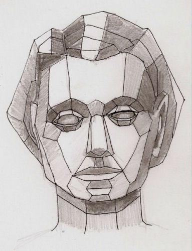 drawing faces using planes - Google Search