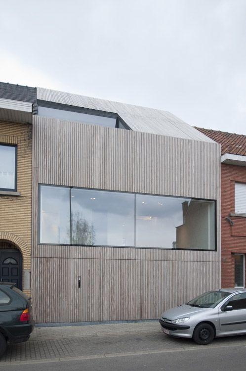 House CM by Bruno Vanbesien Architects