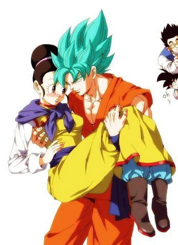 Veronica Walter uploaded this image to 'Dragonball Z GT/goku and chichi'.  See the album on Photobucket.