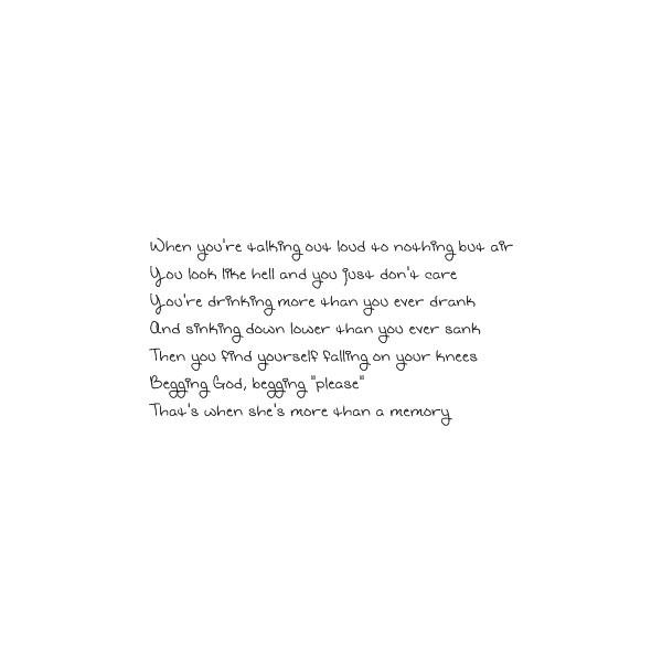 My Garth Brooks Tattoo Lyrics From The Dance I Love: 57 Best Images About GARTH BROOKS On Pinterest