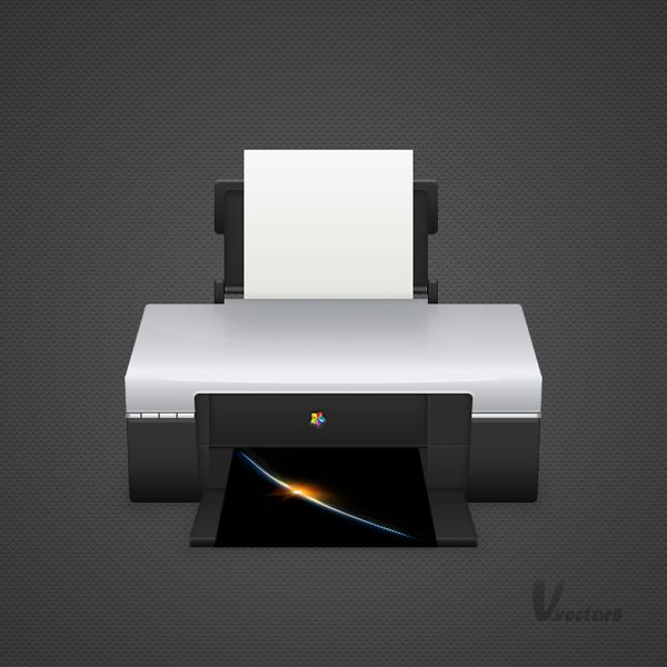 Draw a Detailed Printer Illustration From Scratch in Photoshop   PSDFan