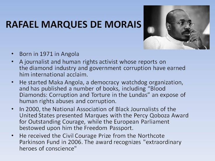 Rafael Marques De Morais