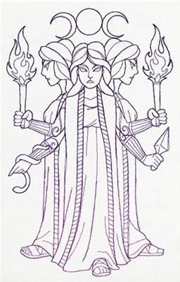Greek Gods - Hecate_image