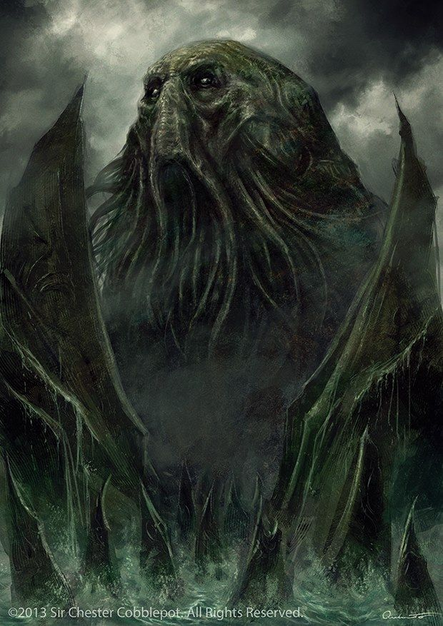 Cthulhu by Satibalzane on DeviantArt
