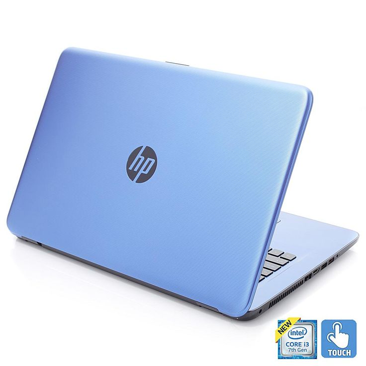 "HP 17.3"" HD Touch LED Intel Core i3, 8GB RAM 2TB HDD Windows 10 Laptop with Software and Services - Blue"