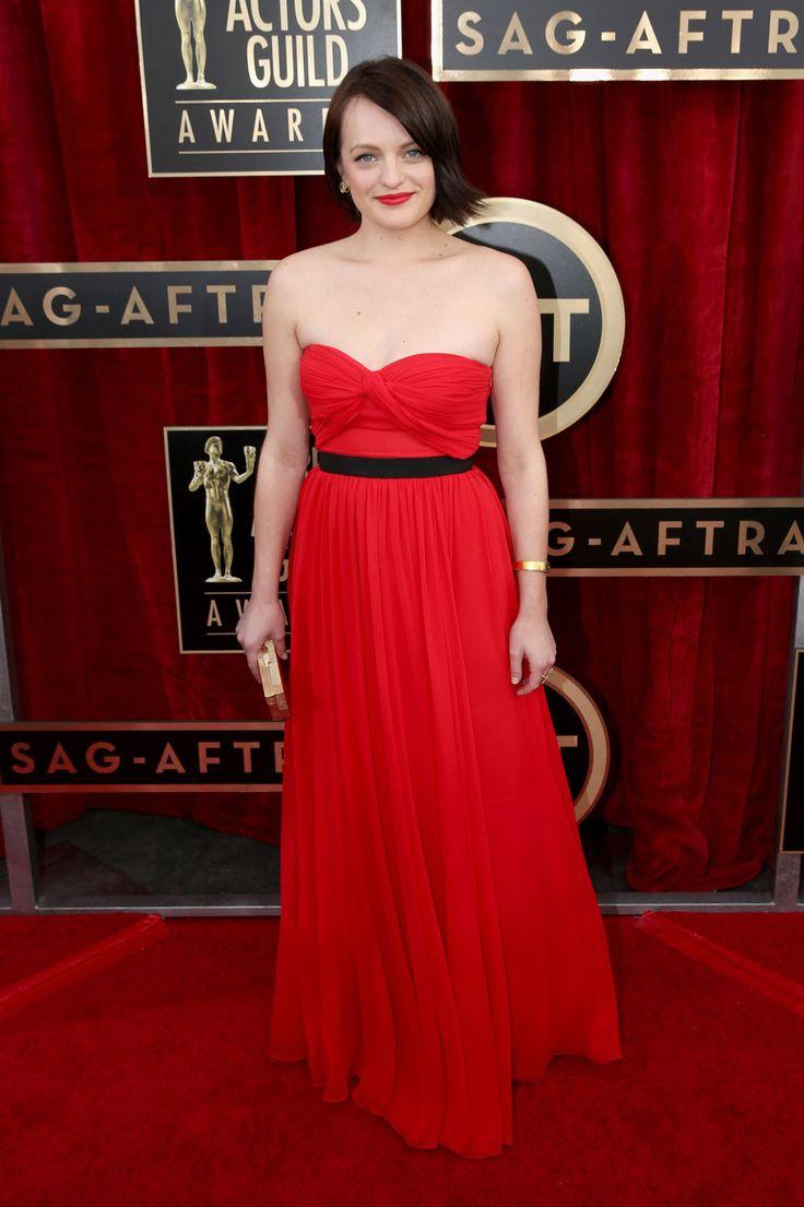 SAG Awards 2014: Elizabeth Moss, Michael Kors