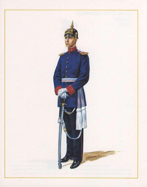 MINIATURAS MILITARES POR ALFONS CÀNOVAS: CHILE , Uniformes del Ejercito de Chile, ( Nº 6 ), Laminas de Julio Berrios Salazar. fuente = Biblioteca Militar de Barcelona.