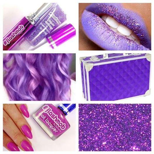 #color #lila #maletin #flashmob #makeup #neon
