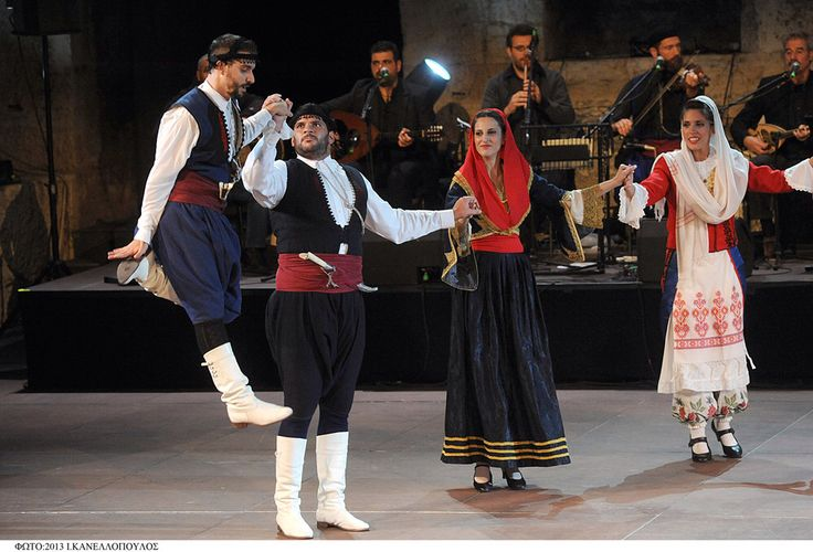 Cretan costume Greece