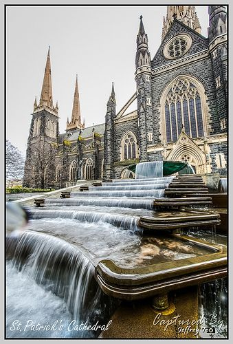 St.Patrick's Cathedral, Melbourne #Australia (Does every major city have a St. Patrick's?):