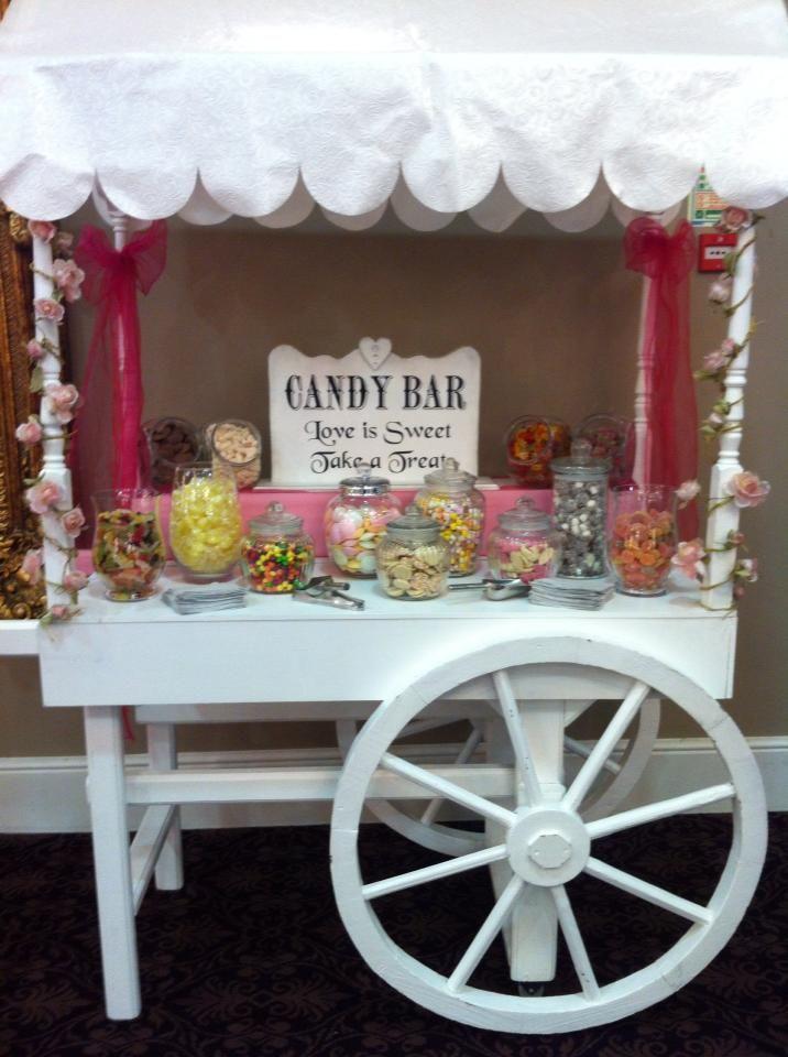 Sweet Cart Nearly Ready Wedding Inspo Sweet Carts