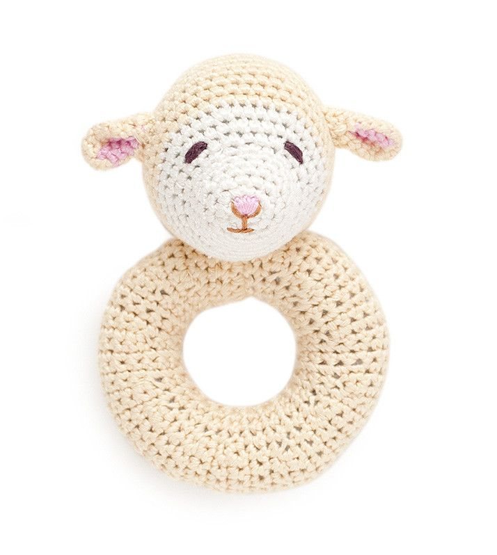 Lamb Ring Rattle