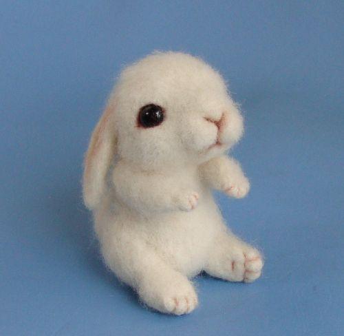 Sooooo sweet!Poppies Needle, Plain Adorable, Wool Baby, Baby Bunnies, Felted Wool, Bunnies Rabbit, Needle Felt, Animal, Felt Wool Crafts