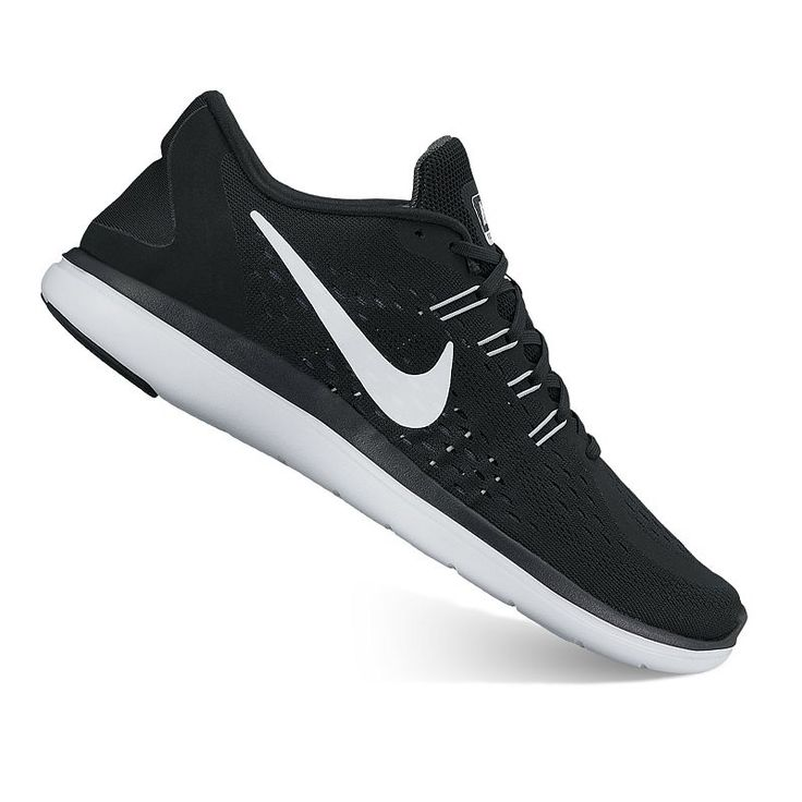 Nike Flex 2017 RN Women's Running Shoes, Black