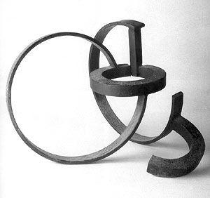 De la serie de la desocupación de la esfera (1957) - Jorge Oteiza