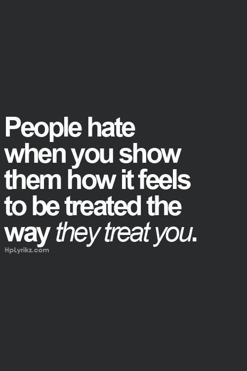 .They treat you - la historia del ahora y del nunca jamás