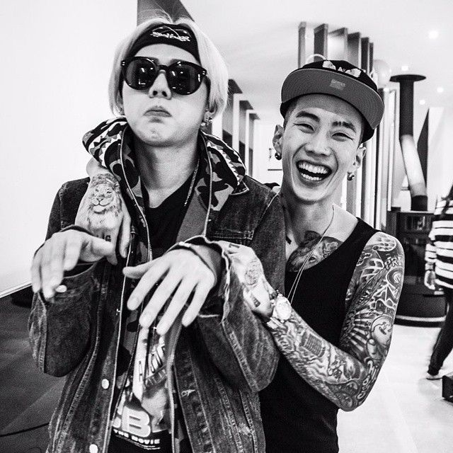 Zico and Jay Park in Mommae                                                                                                                                                                                 Mais