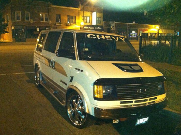 The Chevrolet Astro Van