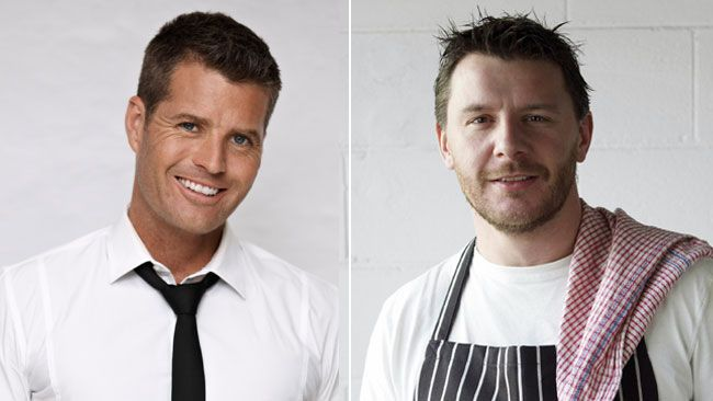 Chefs Pete Evans and Manu Feildel have become household names thanks to their TV success.