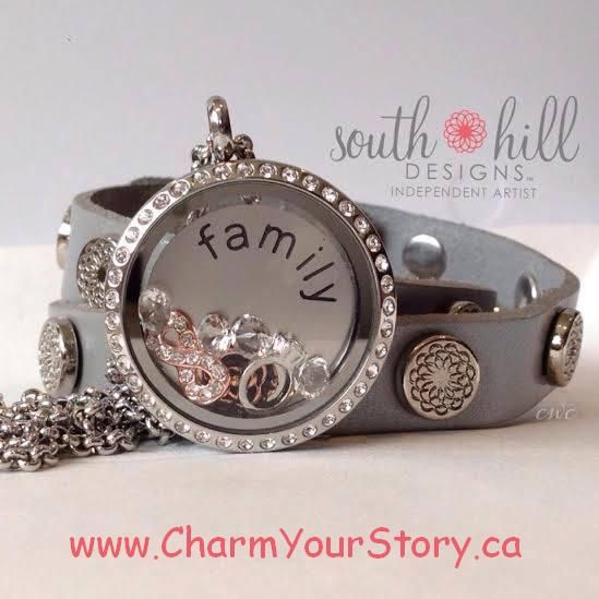 For the latest styles in customized jewelry visit www.charmyourstory.ca #Jewelry #Lockets #Style #GetTheLook #Gifts