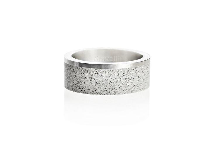 Concrete Jewellery by Gravelli - design z betonu  http://mindsparklemag.com/design/concrete-jewellery-by-gravelli/