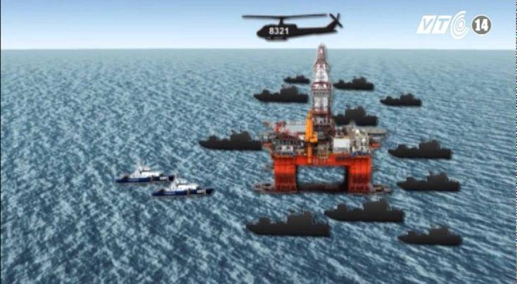 VTC14_Trung Quốc huy động thêm nhiều tàu ngăn cản tàu của lực lượng chấp...