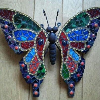 Een kleine vlinder