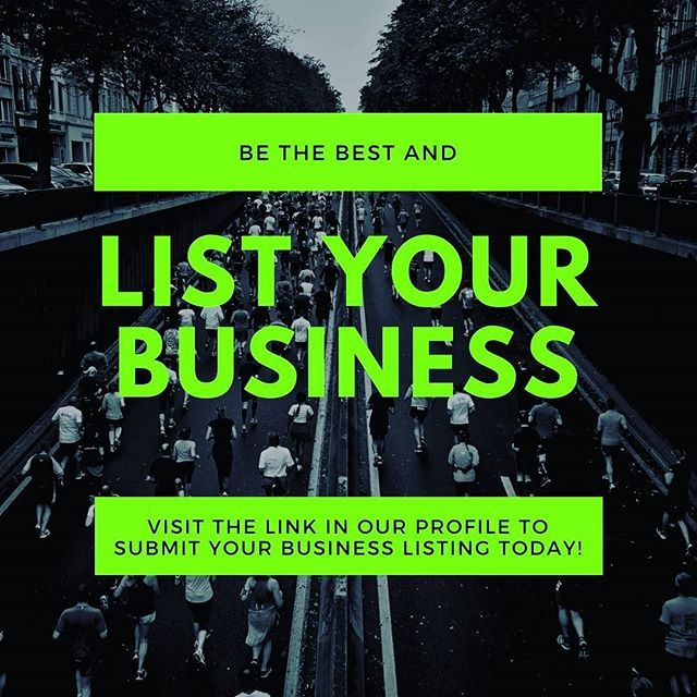 We want YOU to help us grow our business directory! Be the