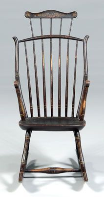 Image result for black painted antique Chair