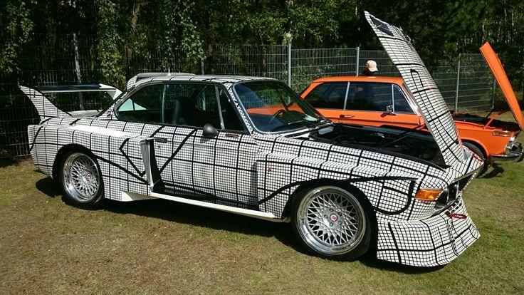 Halmstad, Sweden,Sports Car Event. Nice BMW