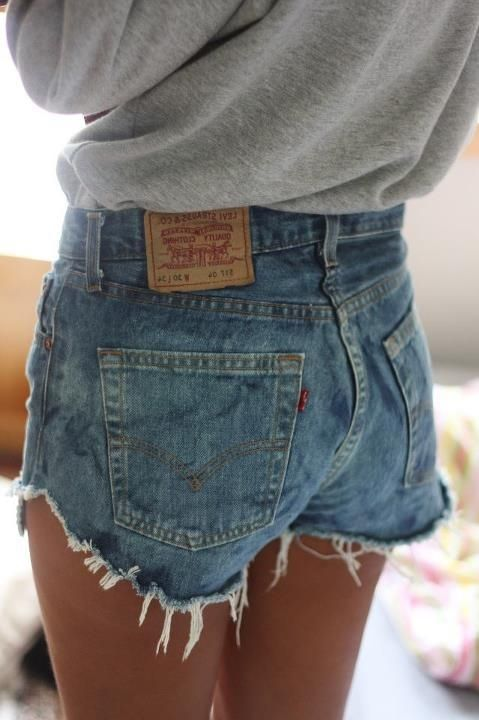 Classic Levi's 501 shorts