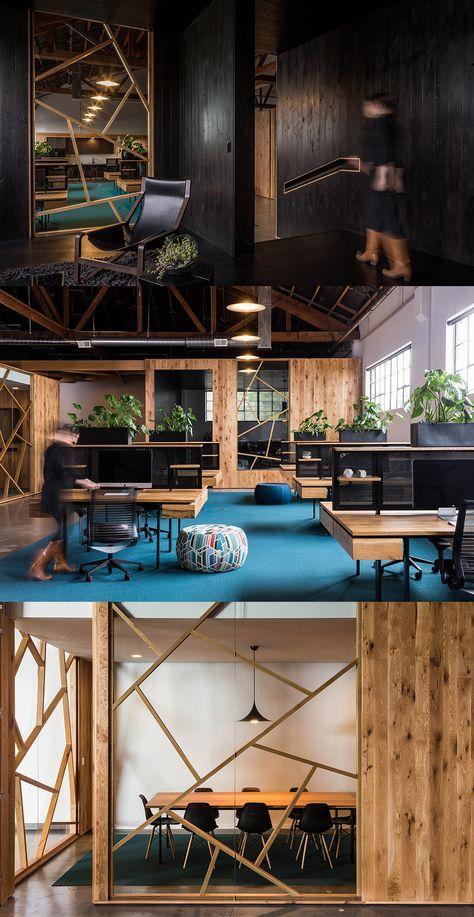 BeFunky Office Design par Fieldwork Design and Architecture