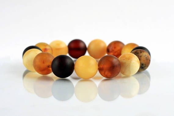 Exclusive  Elegant Amber Bracelet Summer Jewelry Safari