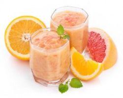 Frischer Citrus Shake - Mit viel Vitamin C, Kalium, Mineralien und wichtigen Ballaststoffen.