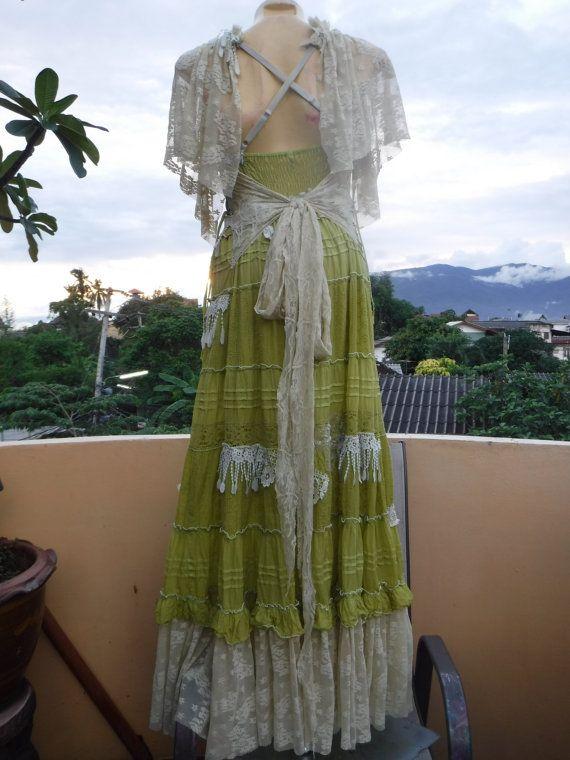20% de descuento de Dama de honor vintage gitana Bohemia