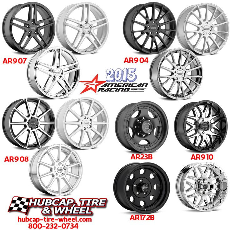New 2015 American Racing Wheels are out and on our site!