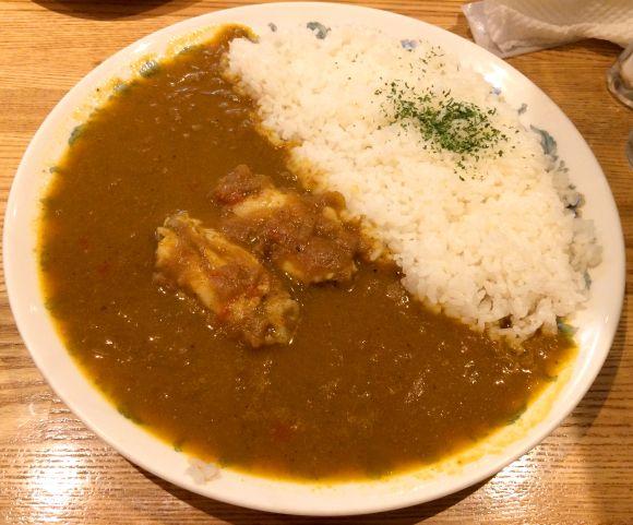 """""""Chicken-Curry""""チキンカレー 東京・銀座「紅鹿舎」"""