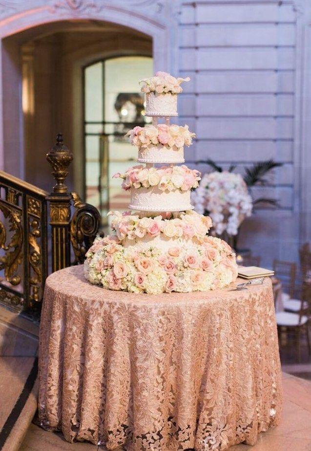 Featured Photographer: Blueberry Photography; Wedding cake idea.