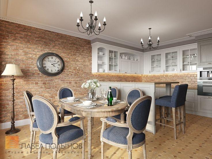 Фото: Дизайн кухни - Дизайн трехкомнатной квартиры в ЖК «Академ-Парк», 83 кв.м.