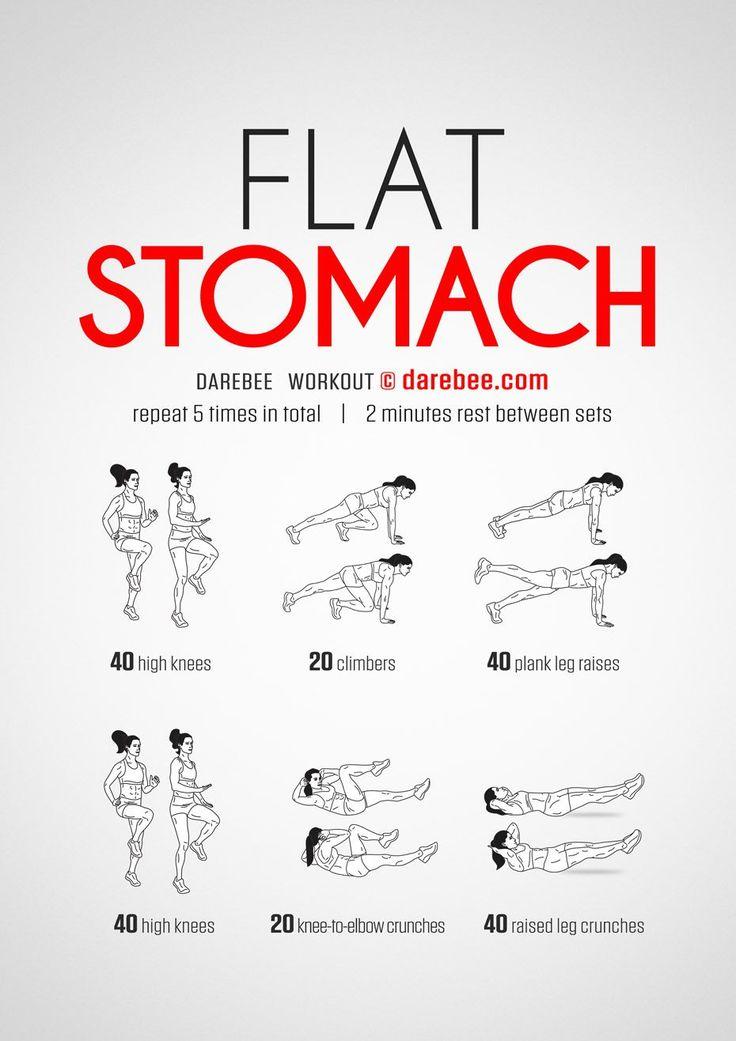 Best 20+ Stomach workouts ideas on Pinterest   Flat ...