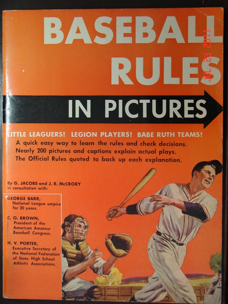 Baseball Rules In Pictures Sports For Dummies