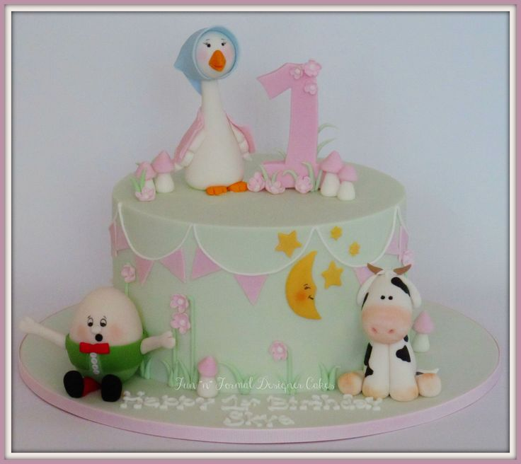 417 Best Images About Nursery Rhyme Cakes On Pinterest