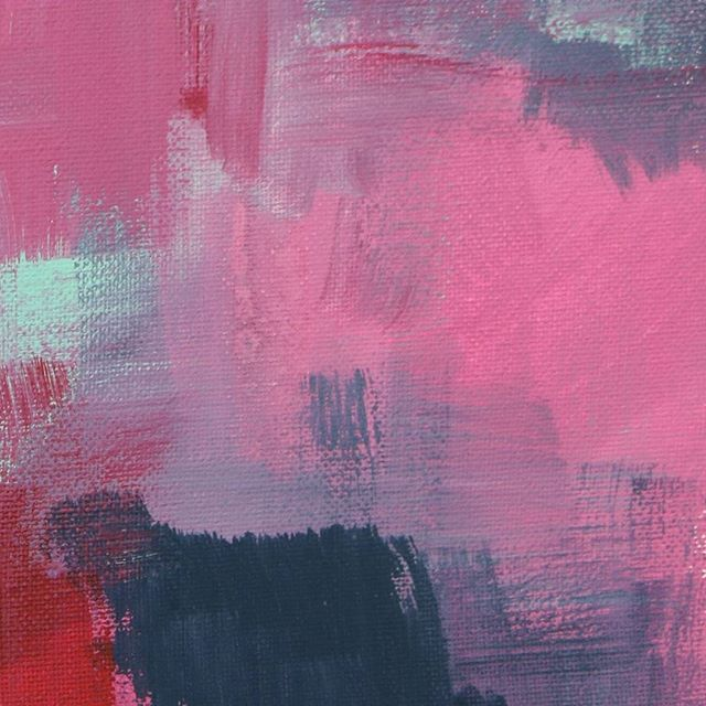 #love making #art... #fashion #lifestyle #artblog #fblog #lifestyleblog #artblogger #fblogger #fashionblog #fashionandtextiles #lifestyleblogger #acrylicpainting #acrylic #painting #artist #paint #color #pink #abstractart #pink #denim #navy #green #texture #wip