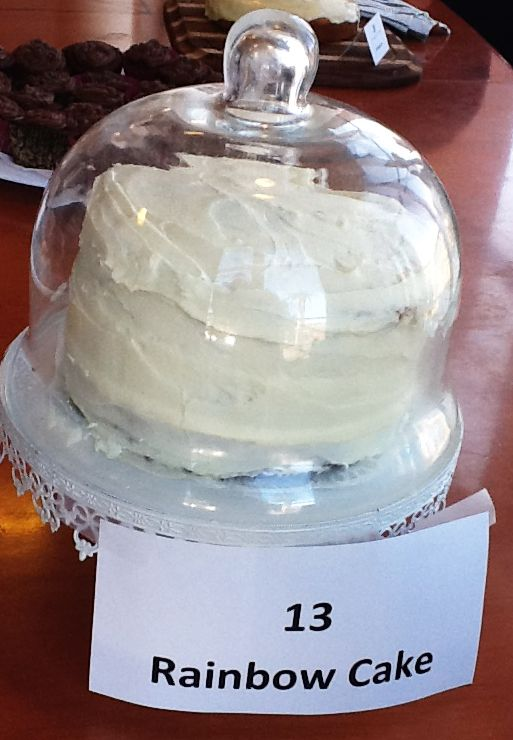 Fifth Place - Rainbow Cake