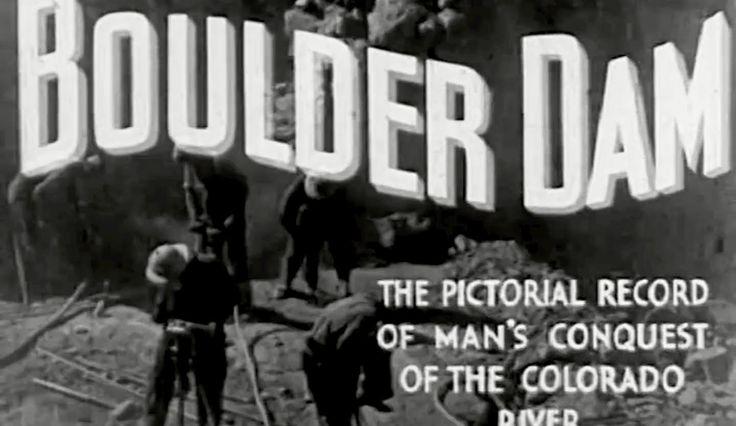 "Hoover Dam Construction: ""Boulder Dam"" circa 1936 US Bureau of Reclamation https://www.youtube.com/watch?v=rfabJJqVCm0 #HooverDam #BoulderCity #ColoradoRiver"